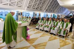 Somos povo unido em Jesus, não pessoas que se arranjam sozinhas – o Papa em Santa Marta