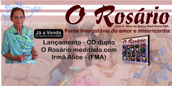Cd O Rosário Com Ir. Alice
