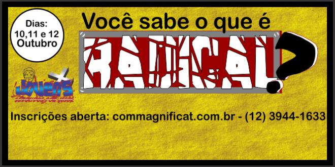 Aprofundamento Radical 2014 – Inscrições Abertas!
