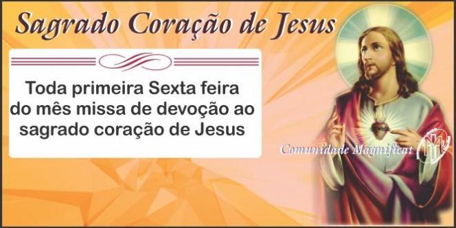 Missa – Sagrado Coração de Jesus